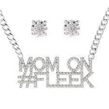 fashion necklace earring sets images Hot fashion necklace earring sets mother 39 s day gift silver neck jpg