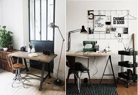 bureaux industriels avoir une decoration avec plus de charme grace à une touche de