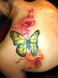 67 adorable flowers tattoos on shoulder