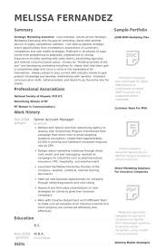 accounts manager resume format download