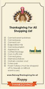 thanksgiving for all food drive update active adults delaware