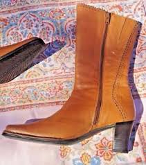 s boots calf size pikolino s s boots brown leather size 37 us 6 5 mid calf side