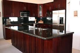 Slab Kitchen Cabinet Doors Cherry Cabinet Doors Cherry Kitchen Cabinets Gallery