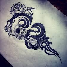 skull tribal tattoo designs best tattoo design