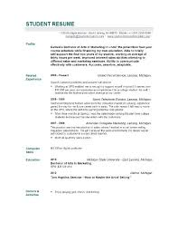 example of a good resume format sample resume by easyjob no