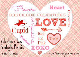 printable valentine u0027s day picture and tutorial the vintage mom
