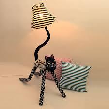 black cat style floor lamps kids 49 6 h for bedroom