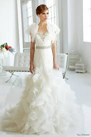 plus size wedding dresses with sleeves or jackets plus size wedding dress of the week val stefani bridal look book