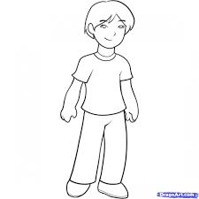 cartoon drawing for kid easy cartoon characters to draw for kids