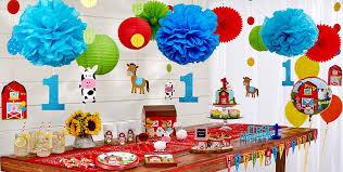 1st birthday party farmhouse 1st birthday party supplies birthday decorations