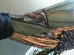 homemade diy camping hammock system