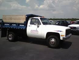 Utility Bed For Sale 1991 Chevy K3500 4x4 Dually 350 Auto Dump Bed Truck Exira Auto