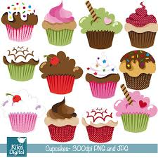 cute cupcakes clipart cupcake clip art scrapbook card