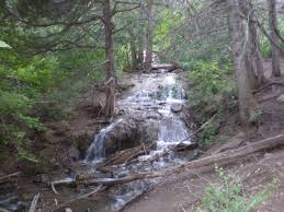 New Mexico waterfalls images Cedar crest nm waterfalls in the sandias photo picture image jpg