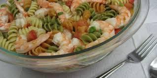 easy shrimp pasta salad recipe genius kitchen