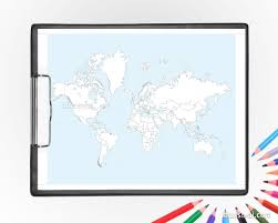 coloring world map printable coloring pages featuring the