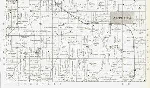 Map Of Astoria Oregon by 1895 Atlas Of Fulton County Illinois Astoria Township