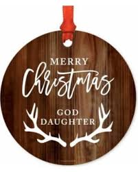 goddaughter ornament deal on metal christmas ornament merry christmas goddaughter