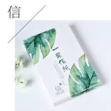 aliexpress com buy 30 pcs lot novelty leaves shape postcard