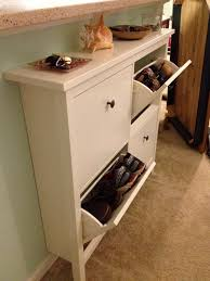 Small Bench With Shoe Storage by Small Mudroom Bench With 3 Tiers Shoe Storage Shelf Inside