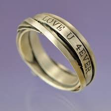 mens rings uk personalised wrap ring silver chris parry uk jewellery