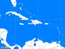 Blank Caribbean Map by Caribbean Outline Map A Learning Family