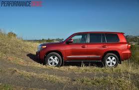 red land cruiser 2014 toyota landcruiser sahara v8 review video performancedrive