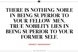 quotes about leadership and dance 12 inspiring ernest hemingway quotes reader u0027s digest
