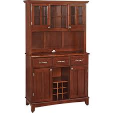 china cabinet china buffet cabinet kitchen red small glass front