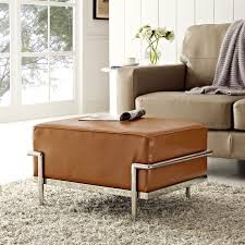 Diy Tufted Storage Ottoman by Coffee Tables Attractive Furniture Round Blue Tufted Storage