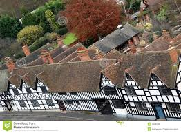 english tudor houses royalty free stock image image 2289306