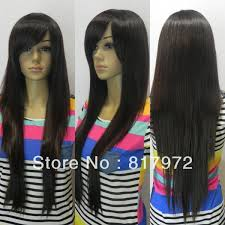 long hair styles with swoop bangs black hair i like it this one side bangs with long hair side bangs with