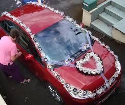 deco mariage voiture voiture de mariage décoration 2014 6 déco