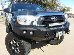 toyota tacoma front bumper guard 12 15 toyota tacoma road armor