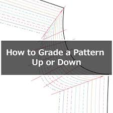 pattern grading for beginners how to grade a pattern up or down a size or two itch to stitch