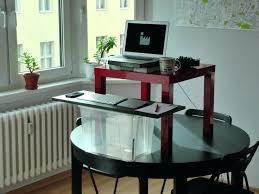 desk diy standing desk homemade modern standing desk creating a