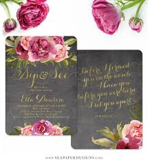 Wedding Quotes From Bible For Invitation Card Etta Baby Sip U0026 See Shower Invitation Merlot U0026 Blush Pink