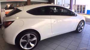opel astra gtc 2015 vauxhall astra gtc sport cdti s s white 2015 youtube
