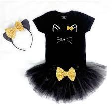 black cat costume for halloween girls cat costume baby cat costume toddler costume