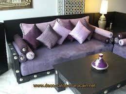 canap pour salon fabrication de canapé salon marocain déco salon marocain