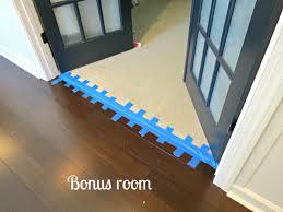 Laminate Flooring Door Transition Installing The Transitions Part Five