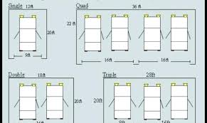dimensions of a 2 car garage 2 car garage dimensions 415 standard single garage door size best