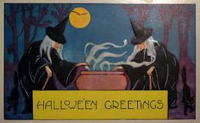 Free Printable Halloween Greeting Cards by Printable Vintage Halloween Postcards U2013 Best Postcards 2017 Photo Blog