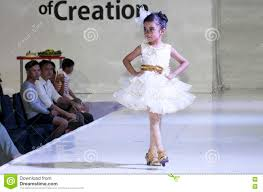 kids fashion show editorial image image 75194155