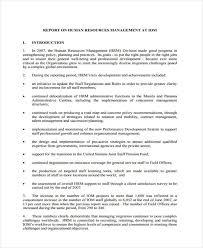 hr management report template 10 sle management report templates free premium templates