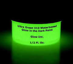 glow in paint ultra green v10 glow in the paint 1 2oz