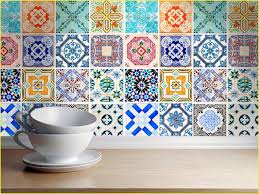 Kitchen Backsplash Decals Blue Pastel Tile Stickers Kitchen Backsplash Tiles Bathroom Tile