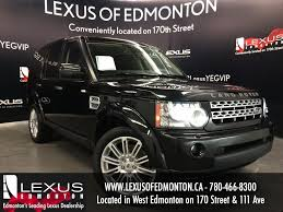 land rover lr4 black interior used black 2011 land rover lr4 4wd v8 lux review red deer