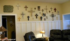 crosses for wall a wall of crosses