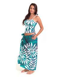 air tahiti piti spandex dress pacific islands art